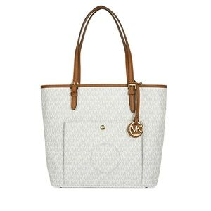 MICHAEL KORS | Jet Set Monogram Logo Travel Tote